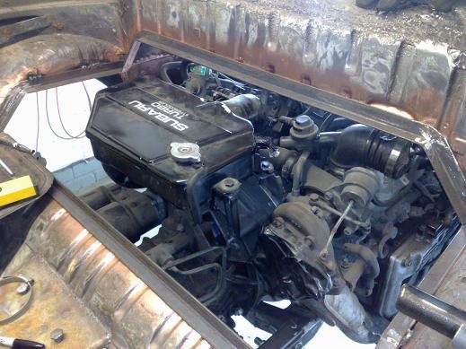 Beetle Cabrio VWRX - rust repair