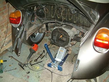 Beetle Cabrio VWRX engine